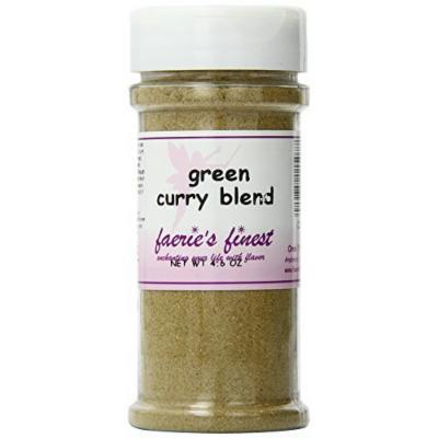 Faeries Finest Blend, Green Curry, 4.60 Ounce