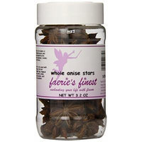 Faeries Finest Whole Anise Stars, 3.20 Ounce