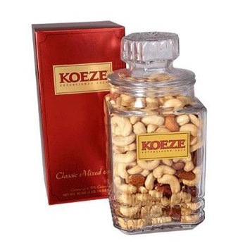 Classic Deluxe Mixed Nuts - 30 oz. Decanter
