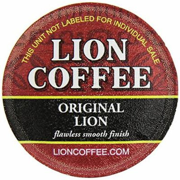 Lion Coffee Original Flavor for Keurig K-cup Machines (12 Cups/box)