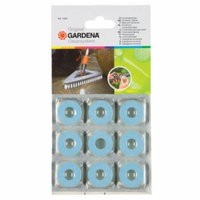 Gardena 1684 Wash Brush Universal Cleaner Disks - 9 Pack