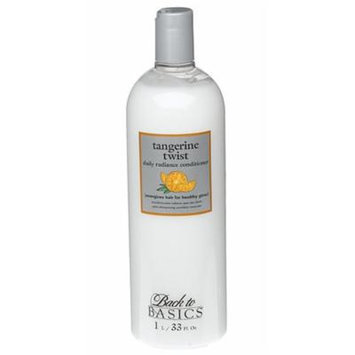 Back to Basics Daily Radiance Tangerine Twist Conditioner 33 Ounces