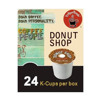 Coffee People DONUT SHOP & BLACK TIGER Extra Bold Variety Pack 48 K-Cups for Keurig Brewers