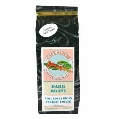 Cafe Scipio Dark Roast Ground Bag, 16-Ounce