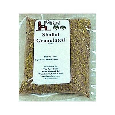 Shallots, Granulated, 4 oz.