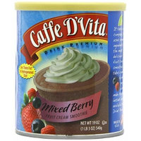 CAFFE D'VITA FRUIT SMOOTHIE 19OZ CAN (MIXED BERRY)