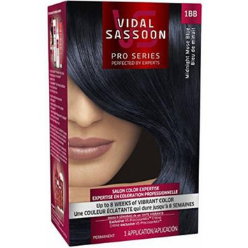 Vidal Sassoon London Luxe 1bb Midnight Muse Blue (Pack of 3)