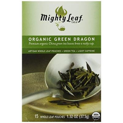 Mighty Leaf Tea, Organic Green Dragon --(Pack of 6)