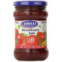 Lowell Foods Strawberry Jam Low Sugar, 11.3 Ounce (Pack of 8)