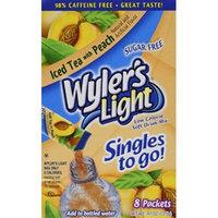 Wyler's Light Peach Iced Tea Singles to Go (8 packets each box) FOUR BOXES