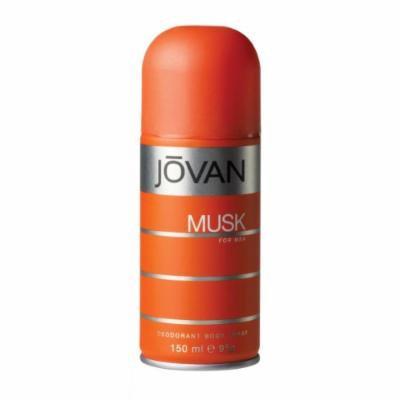 Jovan Musk by Jovan for Men Deodorant Body Spray 5 oz