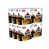 Brawny Super Size Value Package Giant Roll Paper Towel, White, Pick-A-Size, 48 Count