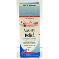 Similasan Anxiety Relief Globules, Soothes & Calms, .529 Oz / 154 Doses (Pack of 3)
