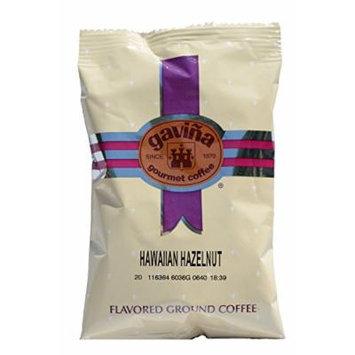 Gavina Hawaiian Hazelnut Flavored Blend Ground Pre-Portioned Packs 42 X 2 Oz #605