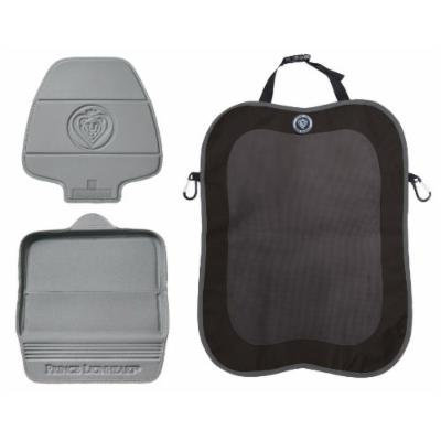 Prince Lionheart 2 Stage Seatsaver with Backseat Kick Protector, Grey/Black