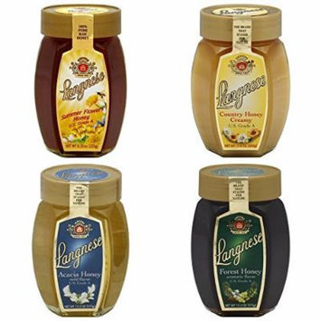Langnese Honey-Creamy Country, Summer Flower, Acacia, Forest (Pack of 4)