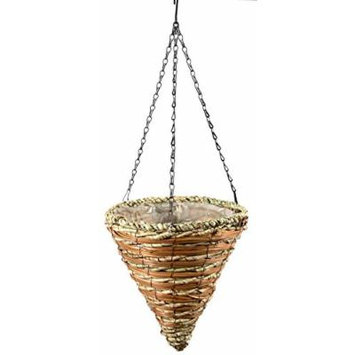 SuperMoss (29666) Wood Woven Baskets - Cone Style, Wintergreen 12