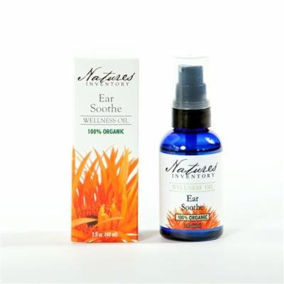 Ear Soothe Wellness Oil - Use for Relief of Ear Aches, Ear Infections & Swimmer's Ear. 100% Organic.