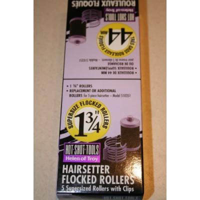 Hot Shot Tools - 5 Replacement or Additional Hairsetter Flocked Rollers