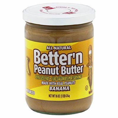 Wonder Banana Pbutter Spread 16 Oz (Pack of 6)