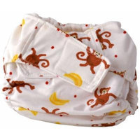 Cuteybaby All in One Modern Cloth Diaper, Go Bananas, Infant
