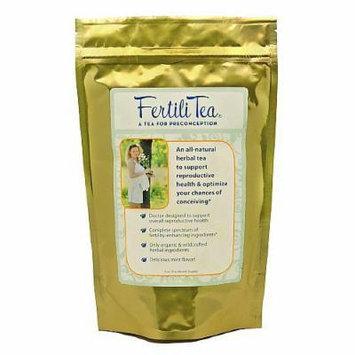 Fertili Tea A Tea for Preconception, All-Natural Herbal Tea for Reproductive Health 3 oz