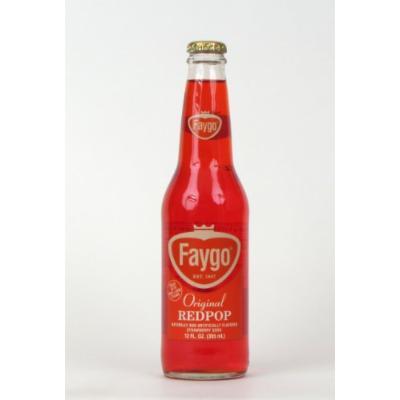 Faygo Red Pop (12 bottles)