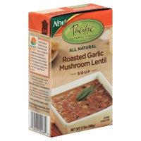 Pacific Natural Foods Roasted Garlic Mushroom Lentil 17.6 Oz (Pack of 12) - Pack Of 12