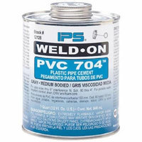 EZ-FLO 86211 Pvc Cement-Clear Medium Body