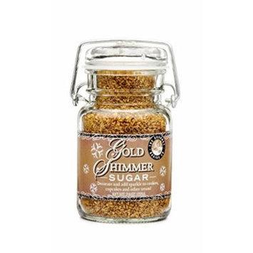 Pepper Creek Farms Sugar, Gold Shimmer, 8.5 Ounce