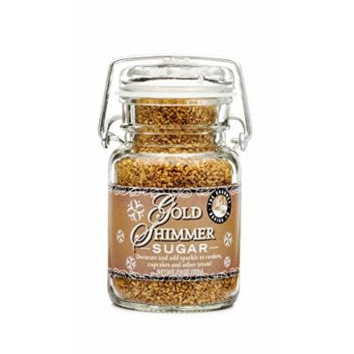 Pepper Creek Farms Sugar, Gold Shimmer, 8.5 Ounce