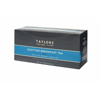 Taylors of Harrogate Wrapped Tea Bags, Scottish Breakfast, 100 Count