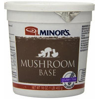 Minor's Mushroom Base, Gluten Free, 16 Ounce