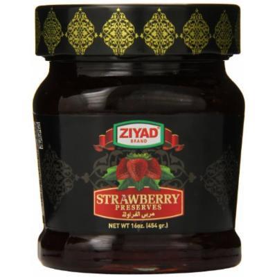 Ziyad Jam, Strawberry, 16 Ounce