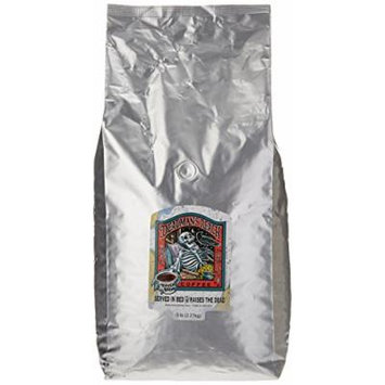 Raven's Brew Whole Bean Deadman's Reach, Dark Roast 5-Pound Bag