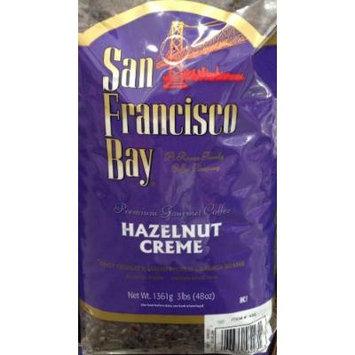 3 Pounds San Francisco Bay Hazelnut Crème Premium Gourmet Whole Bean Coffee First Quality Hand Picked Arabica Beans