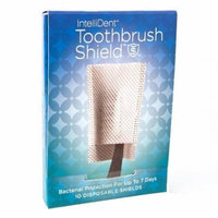 Intellident Antimicrobial Toothbrush Shields 10ct Pack of 4
