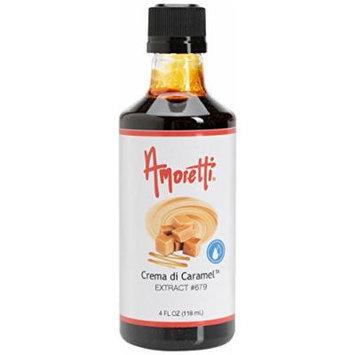 Amoretti Crema di Caramel Extract, 4 Ounce