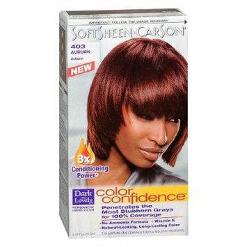 Dark and Lovely Permanent Haircolor, 403 Auburn 1 kit