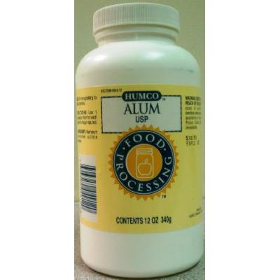 PACK OF 3 EACH ALUM AMMONIUM POWDER HUMCO 12OZ PT#395004912