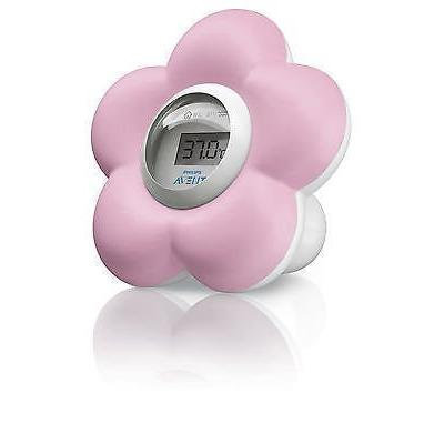 Philips Avent New Digital Baby Bath and Room Thermometer Scf550/21 - Girls Pink for Children Fast Shipping Ship Worldwide