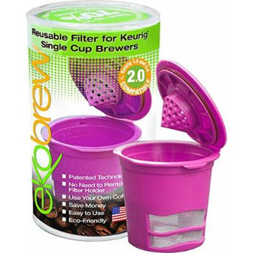 Ekobrew Refillable K-cup for Keurig 2.0 and 1.0 Brewers