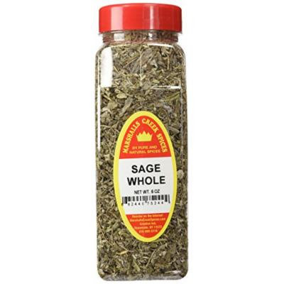 Marshalls Creek Spices X-Large Size Sage, Whole, 6 Ounces
