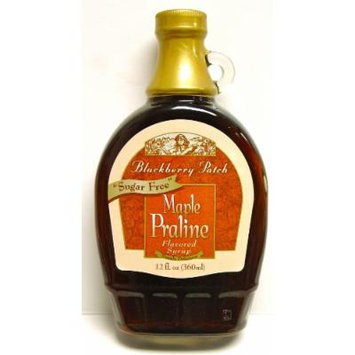 Maple Praline Flavored Sugar Free Syrup, 12oz, Blackberry Patch