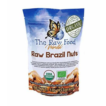 Organic Raw Brazil Nuts, 16 Oz