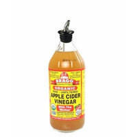 Bragg's No Spill Pour Spout for Braggs Apple Cider Vinegar Bottle (Spout Only) Bragg 16oz 32oz bottle