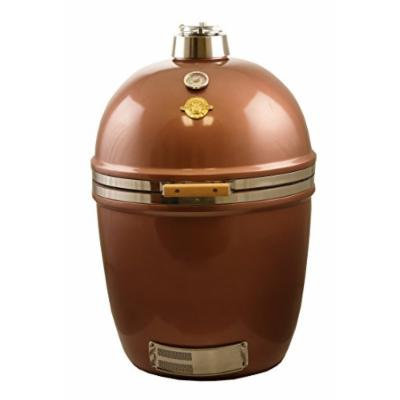 Grill Dome Infinity Series Ceramic Kamado Charcoal Smoker Grill, Copper, Large