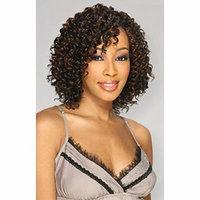 Q WATER DEEP 5PCS - MilkyWay Que Human Hair MasterMix Weave Extensions #1B/30