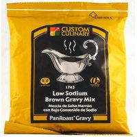 Custom Culinary Panroast Gluten Free Low Sodium Gravy Mix, Brown, 12 Ounce