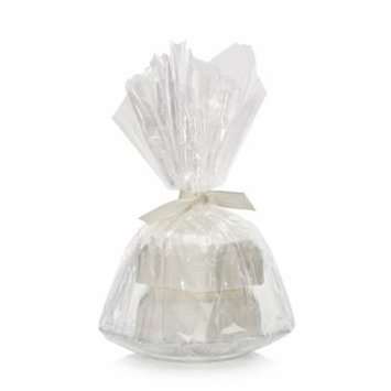 LADY PRIMROSE SOAP GIFT SET 2x3.0 OZ CREAM SOAP ON COASTER